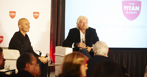 Richard Branson @ The Titan Summit